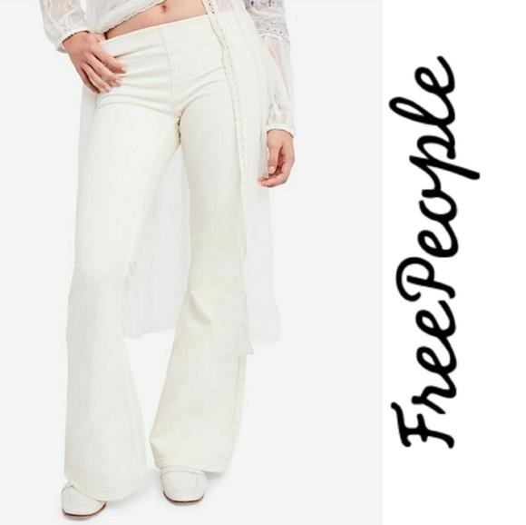 Free People Pants - Freepeople Khaki Flare Pants